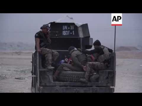 Iraqi forces capture 4 suspected IS fighters
