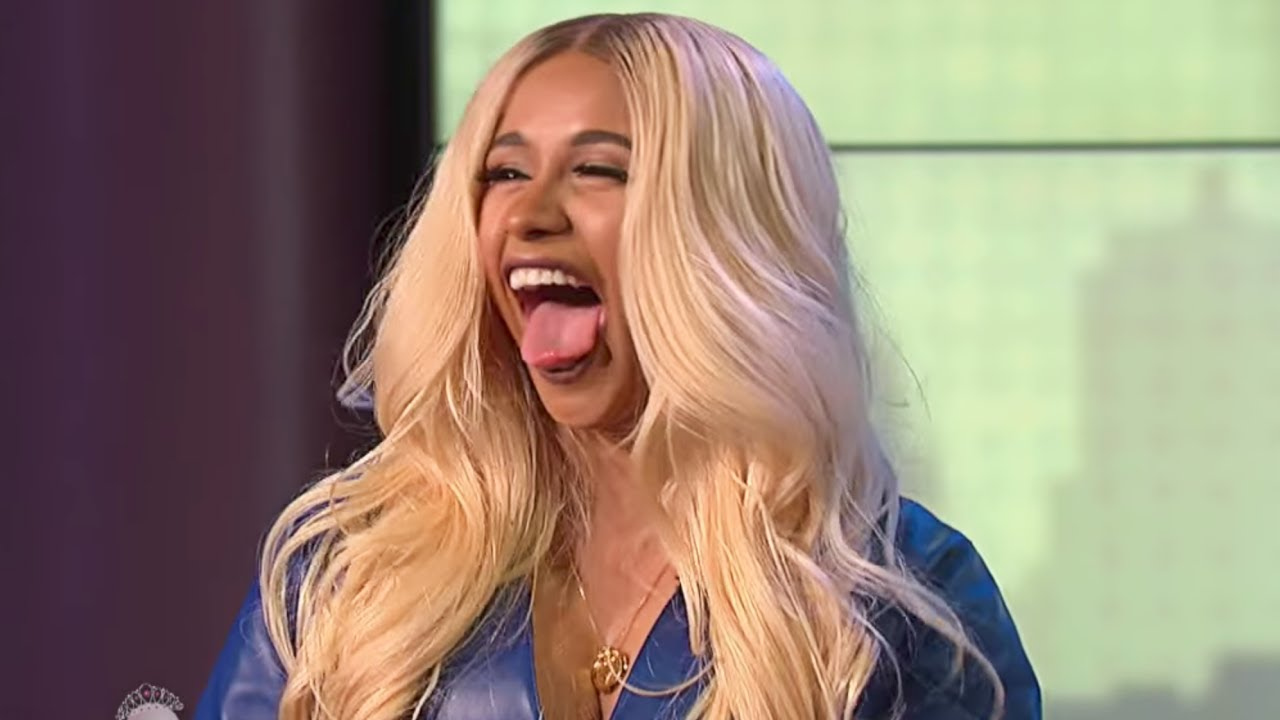 Tongue Cardi Bs: Cardi B Dodges Wendy's Offset Questions
