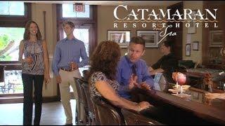 San Diego Bar - Moray's at Catamaran Resort
