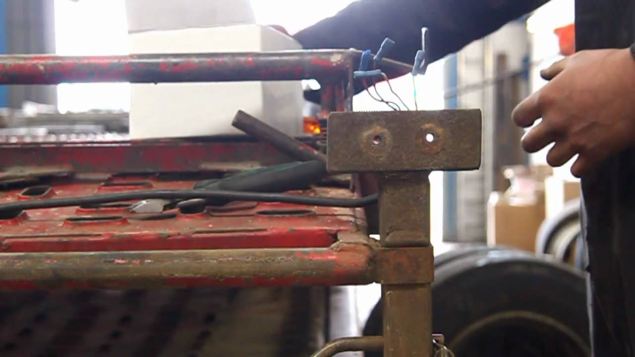 How To Replace A Conventional Trailer Light With An Led Unit Youtube Hgv Wiring Diagram Uk