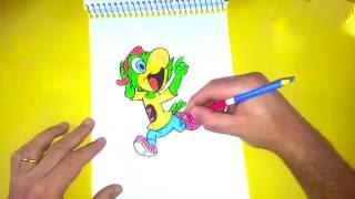 Como Desenhar o Zé Carioca - #158