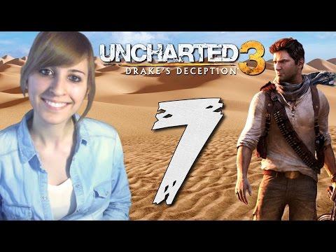 Uncharted 3: La traición de Drake #7 - Let's Play Español || loreniitta90