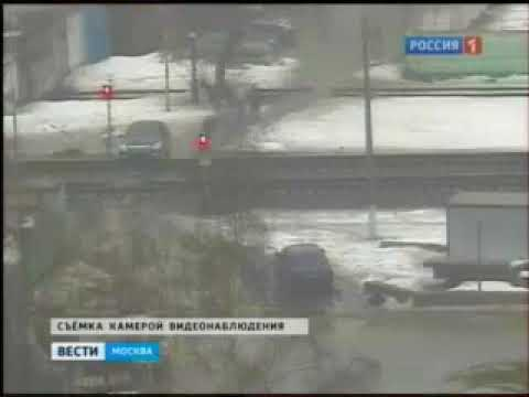 Электричка протаранила автомобиль на станции Одинцово