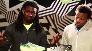 Eric Berry & Sammy Watkins тестируют бутсы Adidas