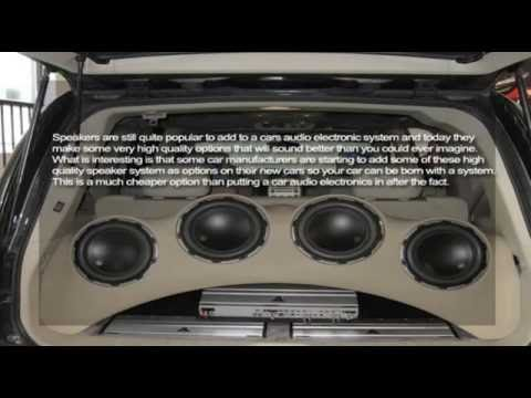 Some Info About Car Audio Electronics