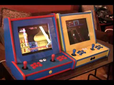 Raspberry Pi Bartop Arcade Machines - YouTube