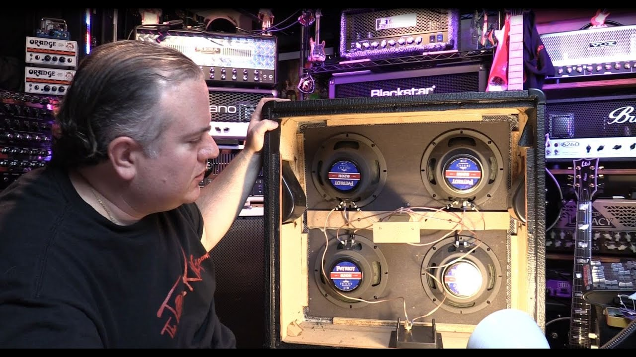 Eminence Speaker Wiring Diagram Simple Schema 8 Ohm Pa Guitar Upgrade Install With Full Index 1