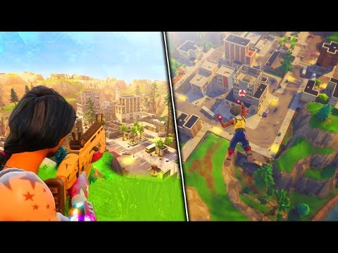 *NEW* MAP GAMEPLAY!  Tilted Tower, Shifty Shafts  More New Map Gameplay Fortnite Update 2.2