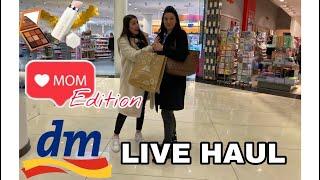 DM LIVE HAUL l Mama Edition - was kauft meine Mama in der Drogerie?