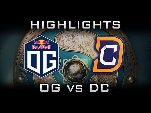 OG vs DC TI7 Highlights The International 2017 Dota 2