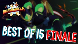 BEST OF 15 FINALE. WHO IS...THE BEST!?  || BRAWLHALLA [32]