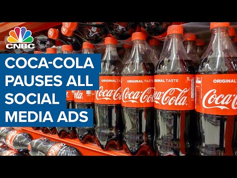 Coca-Cola pauses all advertising on social media