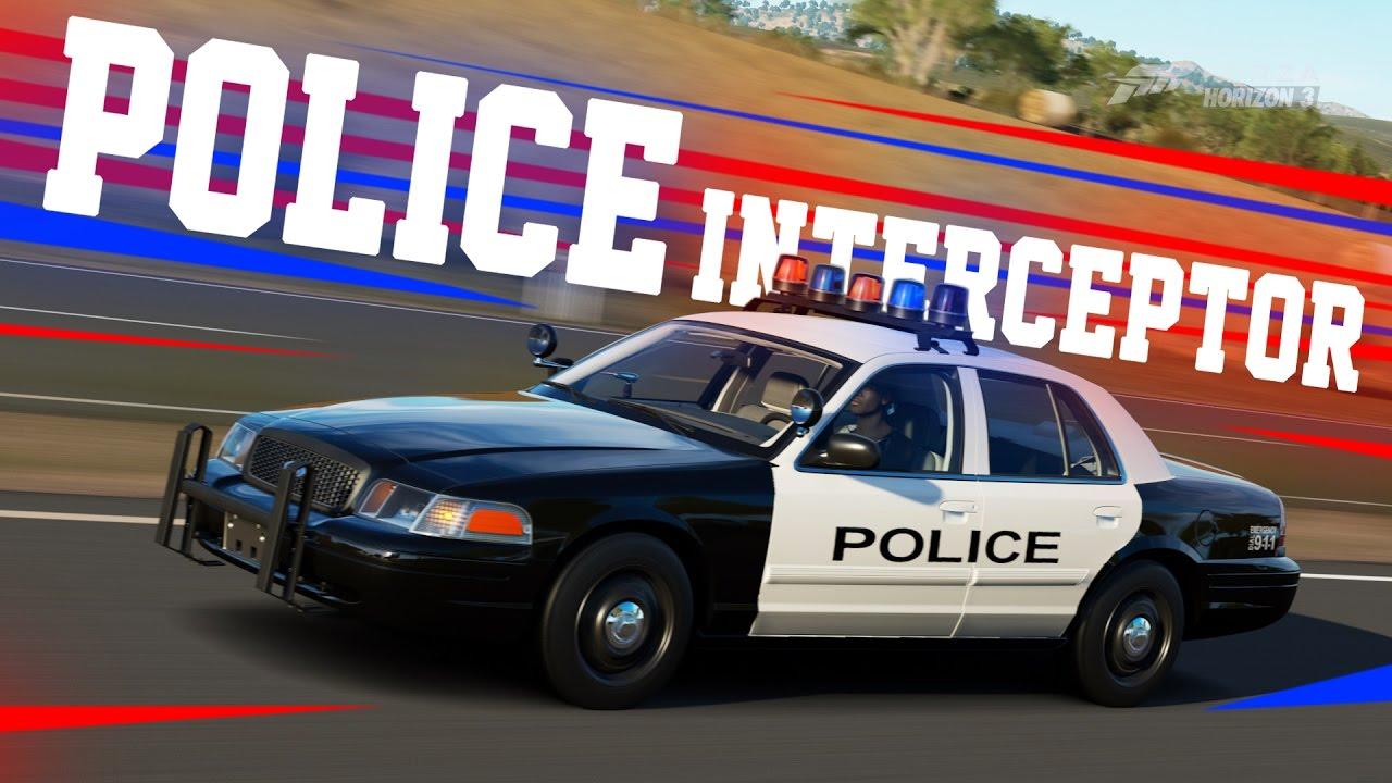 Ford crown victoria police interceptor showcase forza horizon 3 gameplay youtube