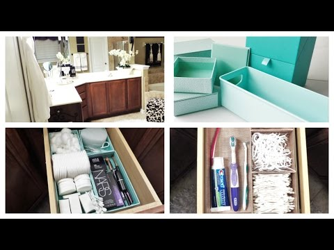 Bathroom Vanity Organization | RECYCLE /RE-PURPOSE CHALLENGE