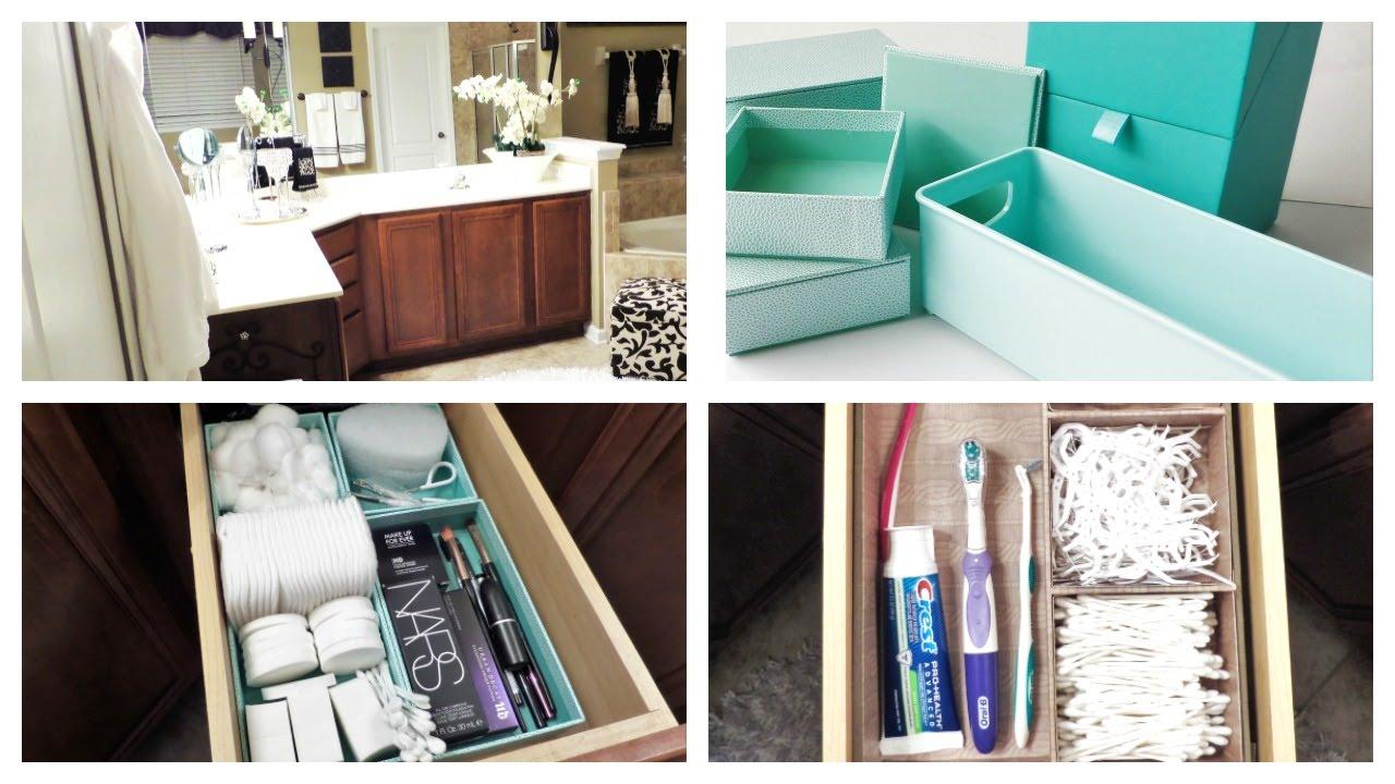 Bathroom Vanity Organization Recycle Re Purpose Challenge Youtube