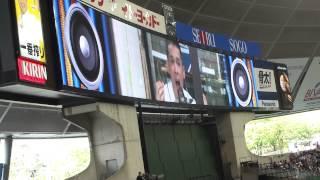 とりあえず大声を出すあのイベントが、柳沢慎吾さんのサイレンverでした.