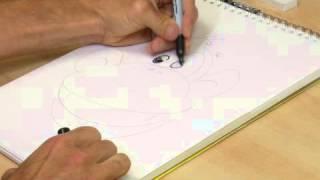 How to Draw a Monkey Head