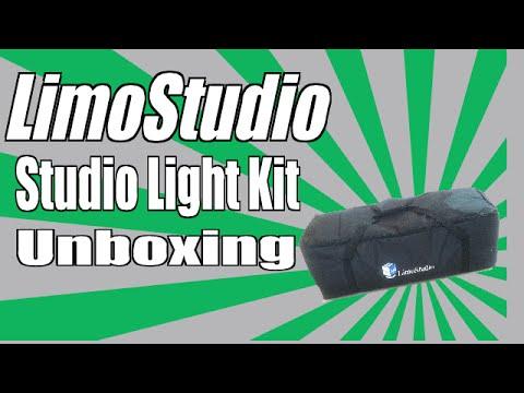 Limostudio Photovideo Studio 2400 Light Kit Limostudio Unboxing