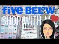 FIVE BELOW SHOPPING!!! *CHEAP* CLOTHES, HAIR ACCESSORIES, JEWELRY & MORE JUST $1 to $5