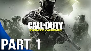 Call of Duty Infinite Warfare - Gameplay Walkthrough Part 1 - Mission 1 - Black Sky