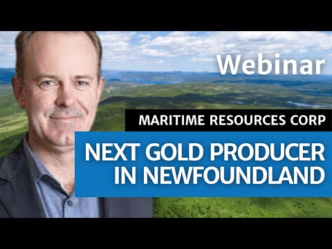 Webinar: Next Gold Producer in Newfoundland