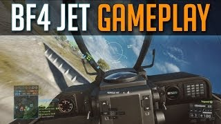 BF4 JET Gameplay - Battlefield 4 Multiplayer Fighter Jet Features Tips & Guide - BF4 Launch