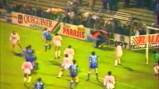 Brest Armorique-Nancy saison 1988-89