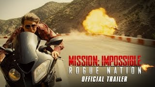 Tom Cruise is back as Ethan Hunt in Mission: Impossible Rogue Natio...