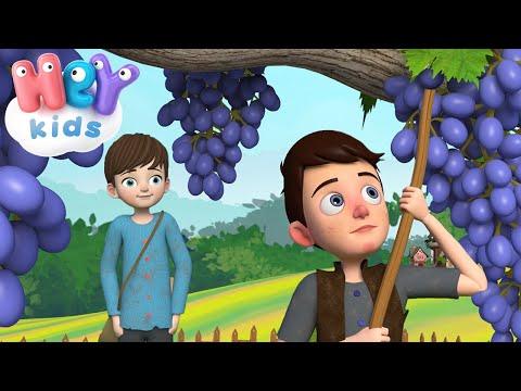 Érik a szőlő 🍇 Gyerekdalok magyarul egybefűzve - HeyKids thumbnail