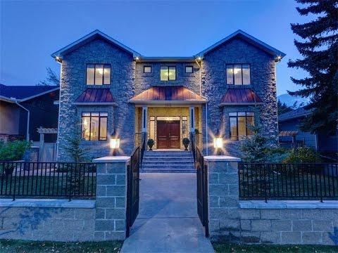 Magnificent Custom Home in Calgary, Canada