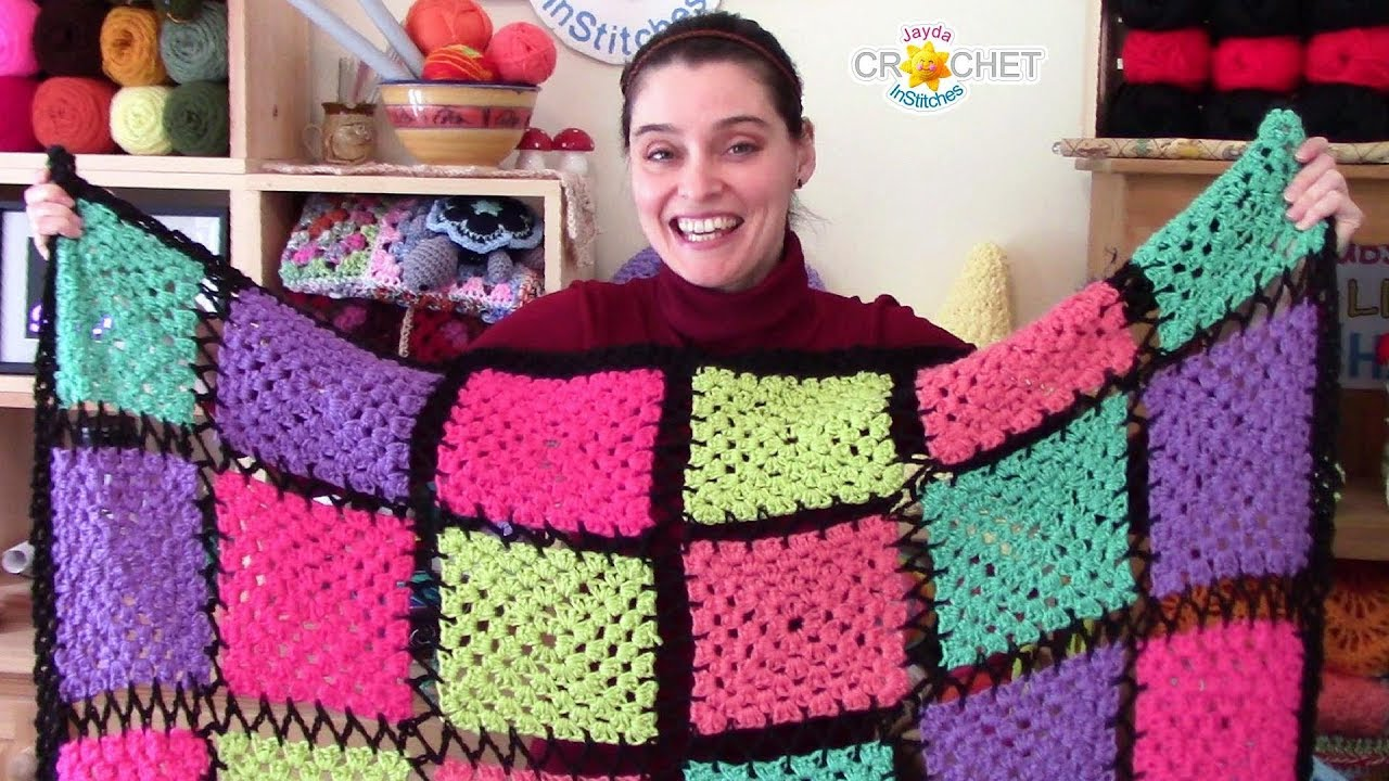 Vintage Crochet PATTERN to make Granny Square Motif Sweater Shell GrannyShell