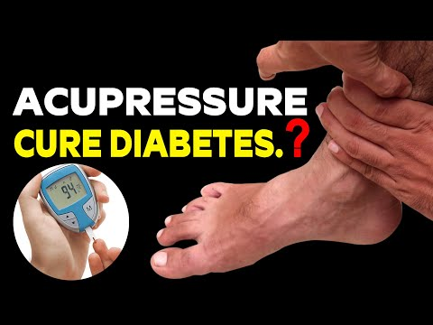 Acupressure Points Cure Diabetes.? | Acupressure Points Control Diabetes | Health and Beauty
