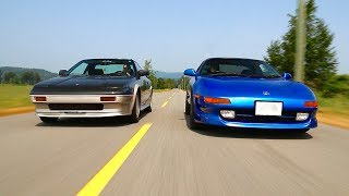 SW20 MR2 Turbo VS. AW11 MR2 | A Japanese Midship Showdown!