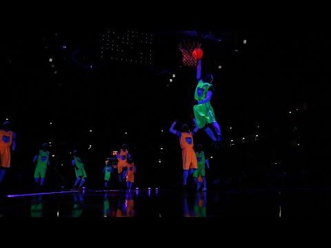 Баскетбол в темноте на Матче всех звезд Единой Лиги ВТБ. Полная запись