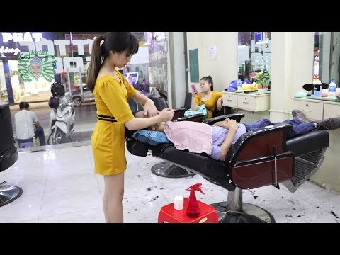 Vietnam Barber Shop Massage Face And Head In Ho Chi Minh City 2019