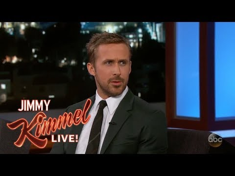 Ryan Gosling & Jimmy Kimmel on Las Vegas