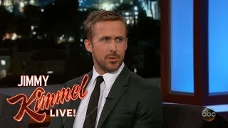Ryan Gosling & Jimmy Kimmel On Las Vegas