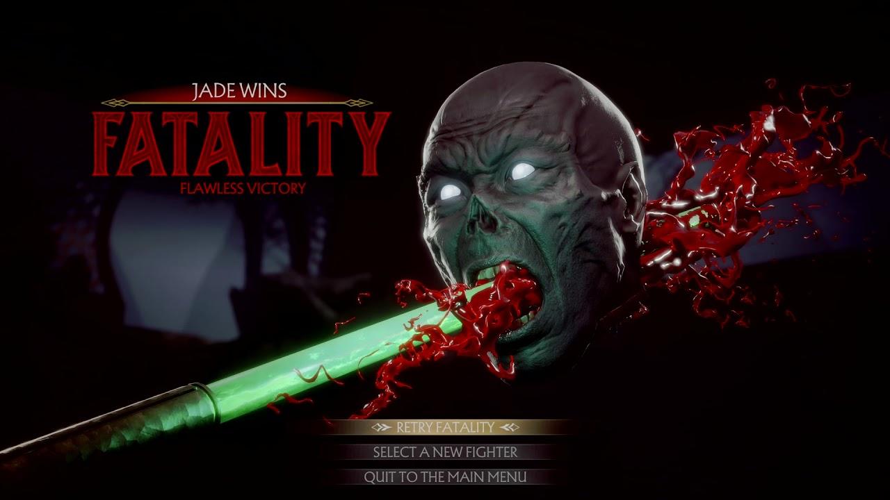 Jade Mortal Kombat 11 Fatalities Guide - Inputs List & Videos