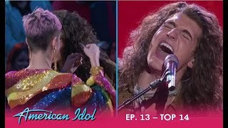 Cade Foehner: Katy Perry Is OBSESSED With This ROCKER - Pulls His Hair Out! | American Idol 2018