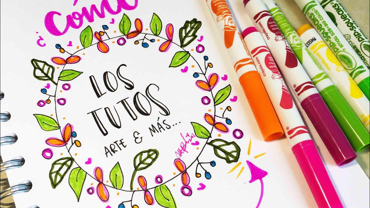 Coronas Para Decorar Cuadernos.Coronas Hermosas Ideas De Coronas