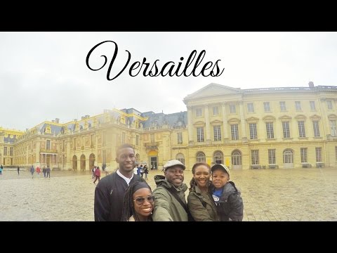 Visiting Versailles Palace in France