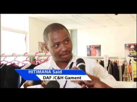 Made in Rwanda: U Rwanda rurakataje mu guteza imbere inganda zikora imyenda n' inkweto