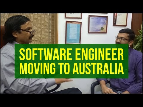 Balgovind, a Software Engineer, discussing how he got his Australia PR with Manoj Palwe