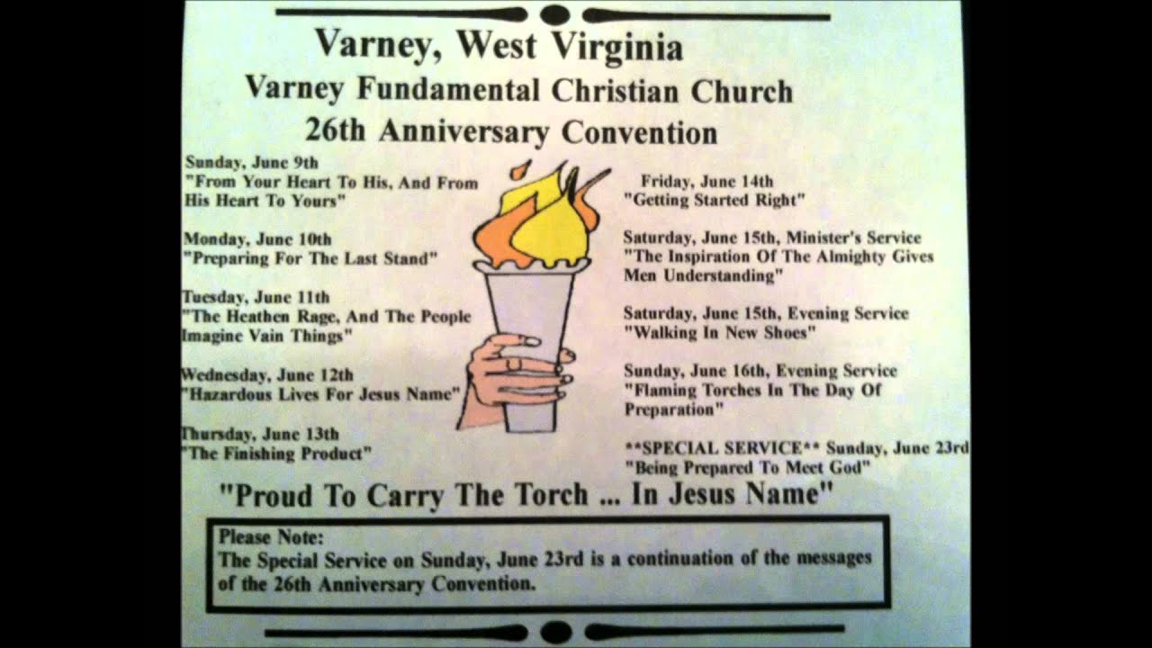 26th Wedding Anniversary Gift: Being Prepared To Meet God. ( Varney 26th