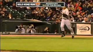 2010/04/13 Iwamura's solo homer