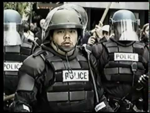 "Atari Teenage Riot ""Rage"" (Matt Pizzolo) WTO/World Bank/Mayday protest video Alec Empire"