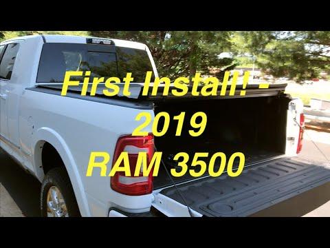 2019 RAM 3500 Mega Cab Cummins - Truxedo LoPro Bed Cover Full Install