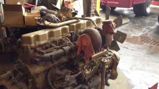 Mack Rmodel dump truck new engine