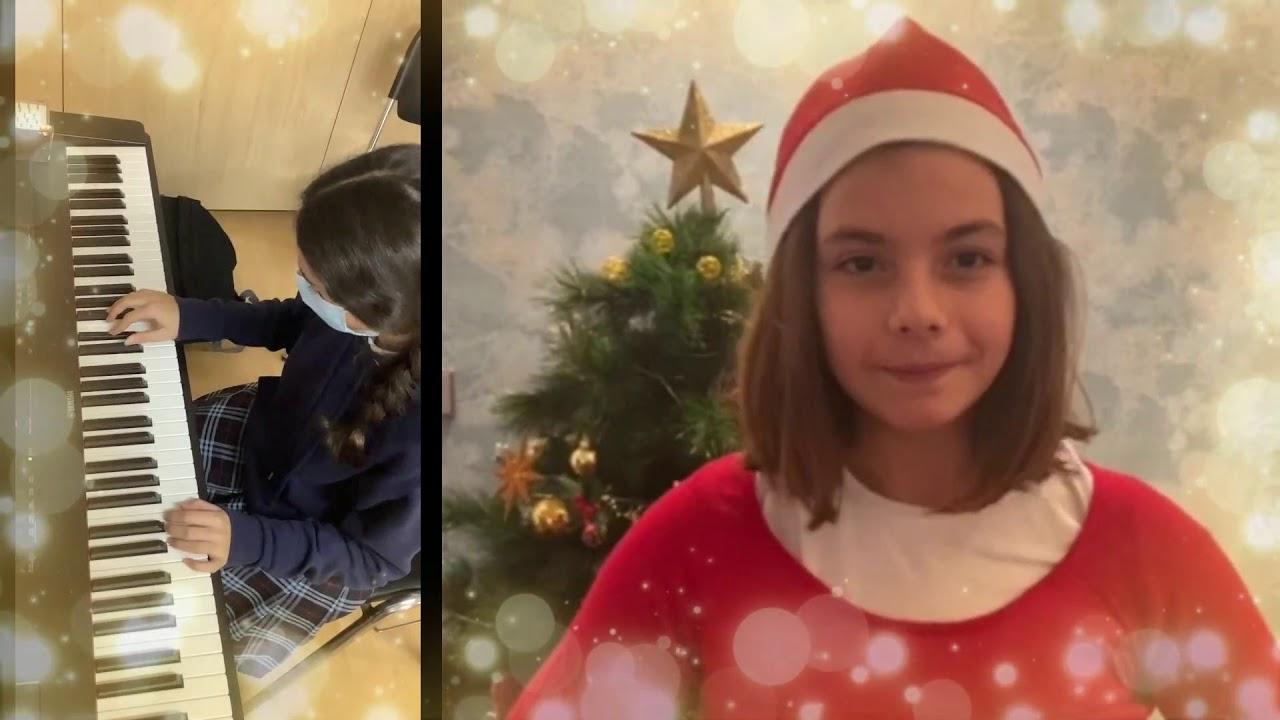 Nuestros alumnos de Piano os desean Feliz Navidad