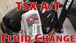 Acura TSX Automatic Transmission Fluid Change